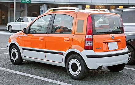 Fiat Panda I 1980 - 2003 Compact MPV #1