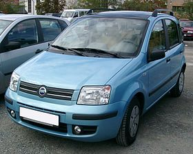 Fiat Panda I 1980 - 2003 Compact MPV #8