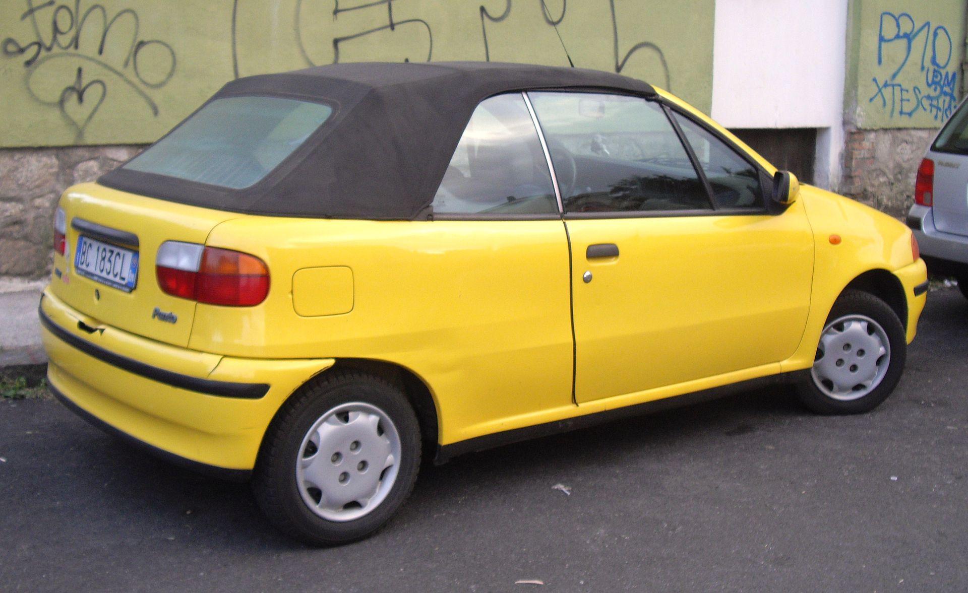 Fiat Punto I 1993 - 1999 Cabriolet #5