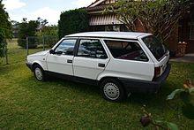 Fiat Regata 1983 - 1990 Station wagon 5 door #5