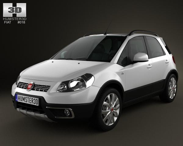 Fiat Sedici 2005 - 2014 Hatchback 5 door #4