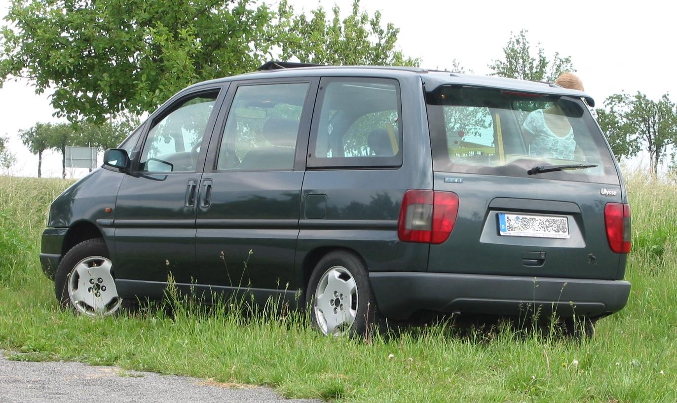 Fiat Ulysse I 1994 - 1998 Compact MPV #3