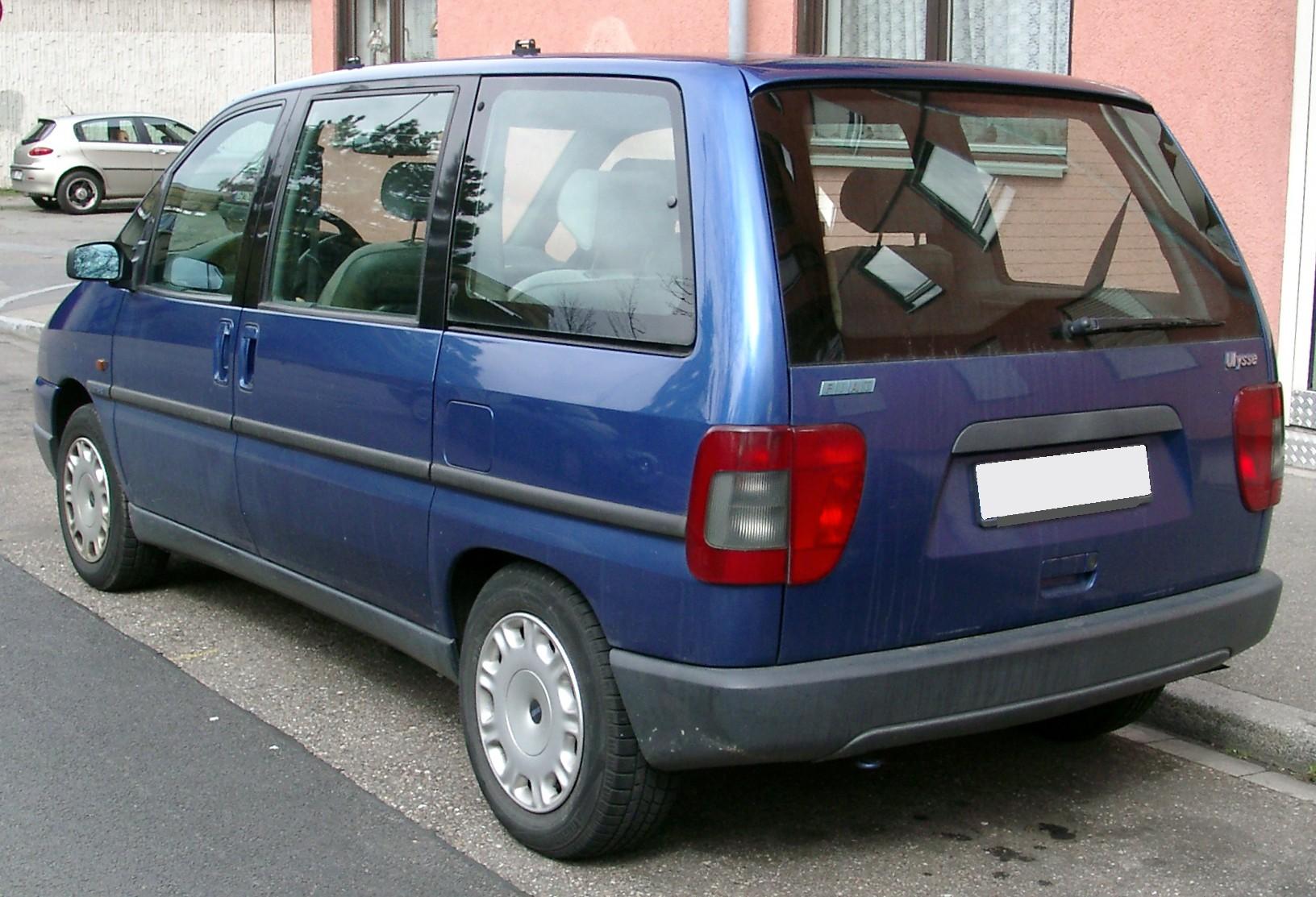 Fiat Ulysse I 1994 - 1998 Compact MPV #2