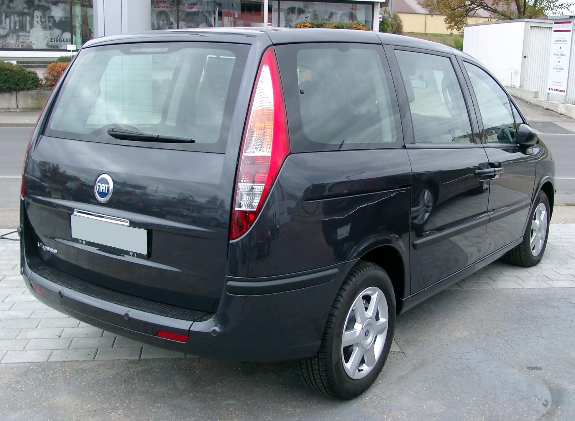 Fiat Ulysse I Restyling 1998 - 2002 Compact MPV #3