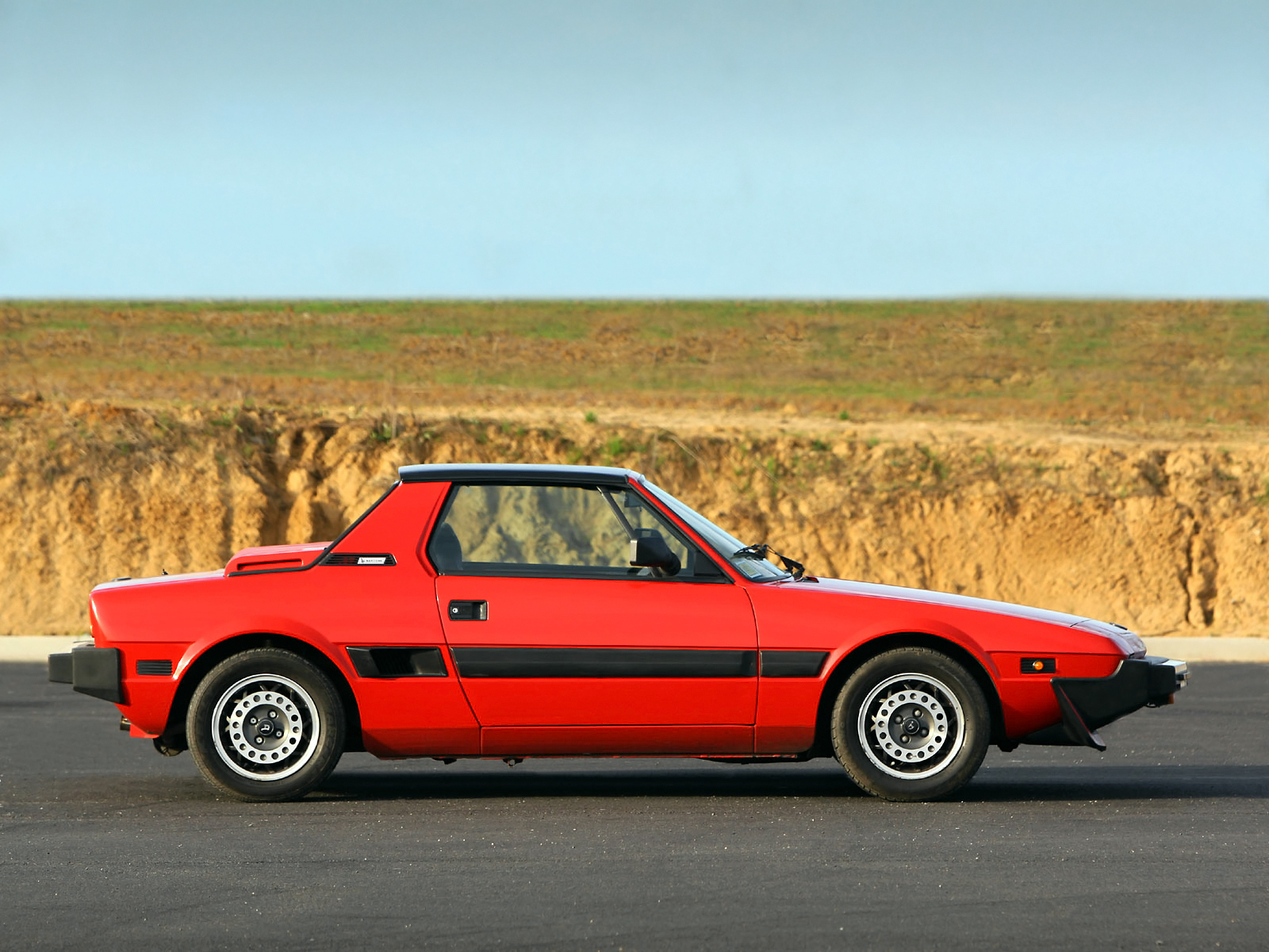 Fiat X 1ǟ 1972 - 1982 Targa #4