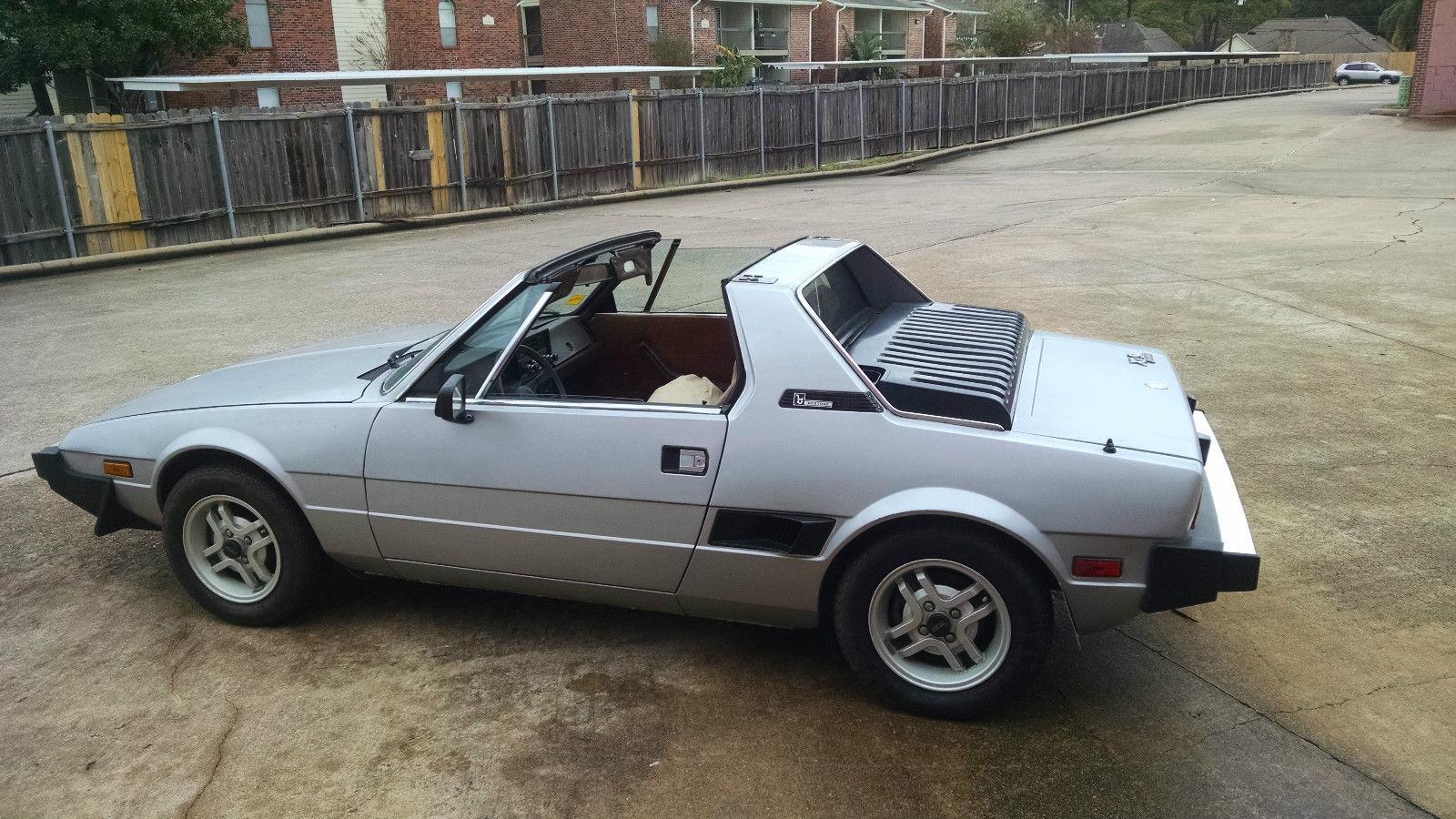 Fiat X 1ǟ 1972 - 1982 Targa #7