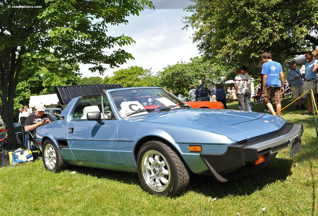Fiat X 1ǟ 1972 - 1982 Targa #5