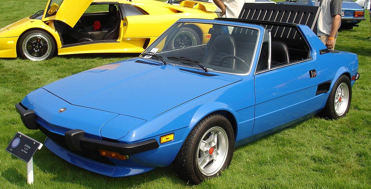 Fiat X 1ǟ 1972 - 1982 Targa #8