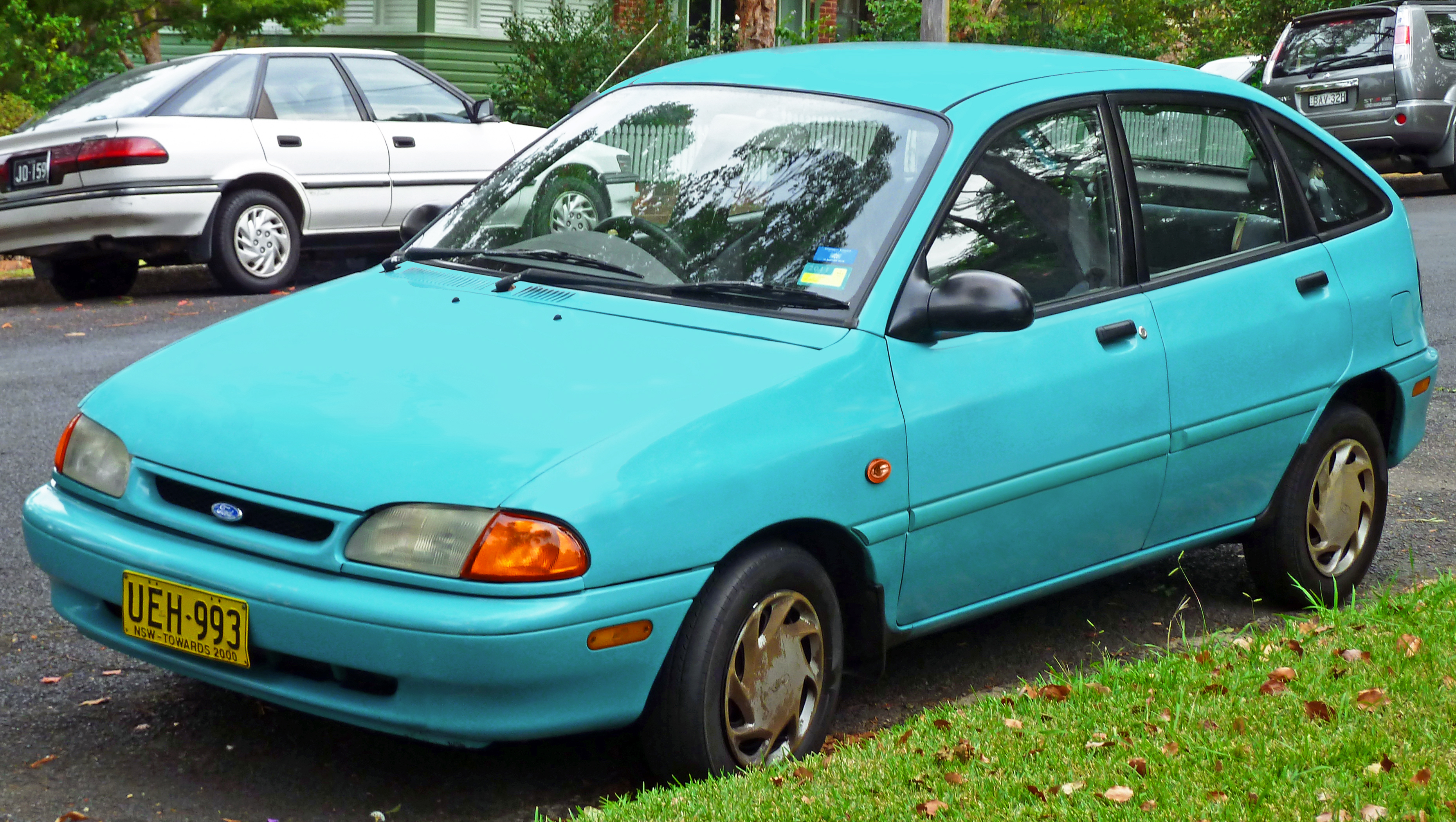 Ford Festiva I 1986 - 1993 Hatchback 5 door #5