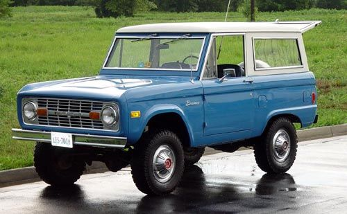 Ford Bronco I 1966 - 1977 SUV 3 door #5