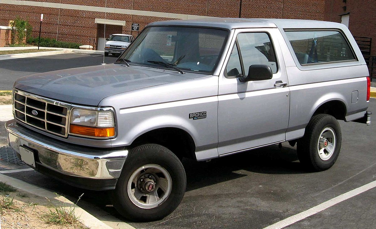 Ford Bronco V 1992 - 1996 SUV 3 door #8