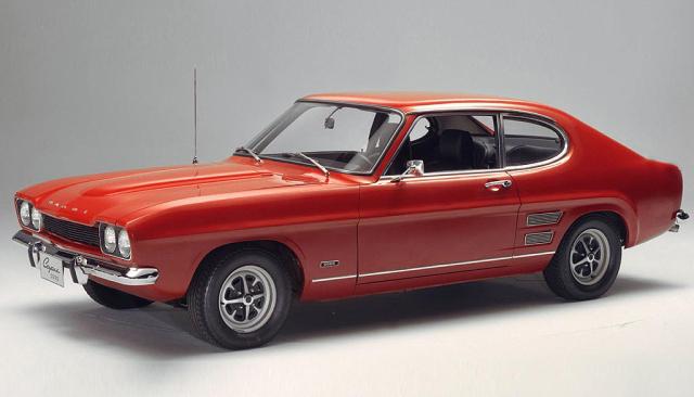 Ford Capri I 1969 - 1974 Coupe #1