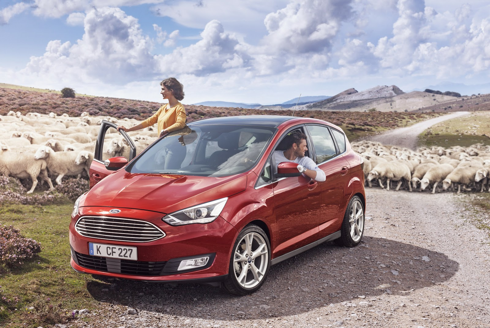 Ford C-MAX II Restyling 2015 - now Compact MPV #6