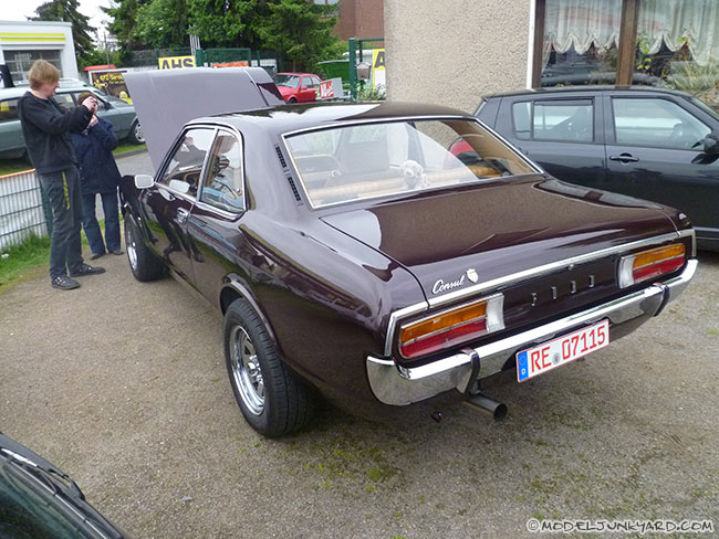 Ford Consul 1972 - 1976 Coupe #6