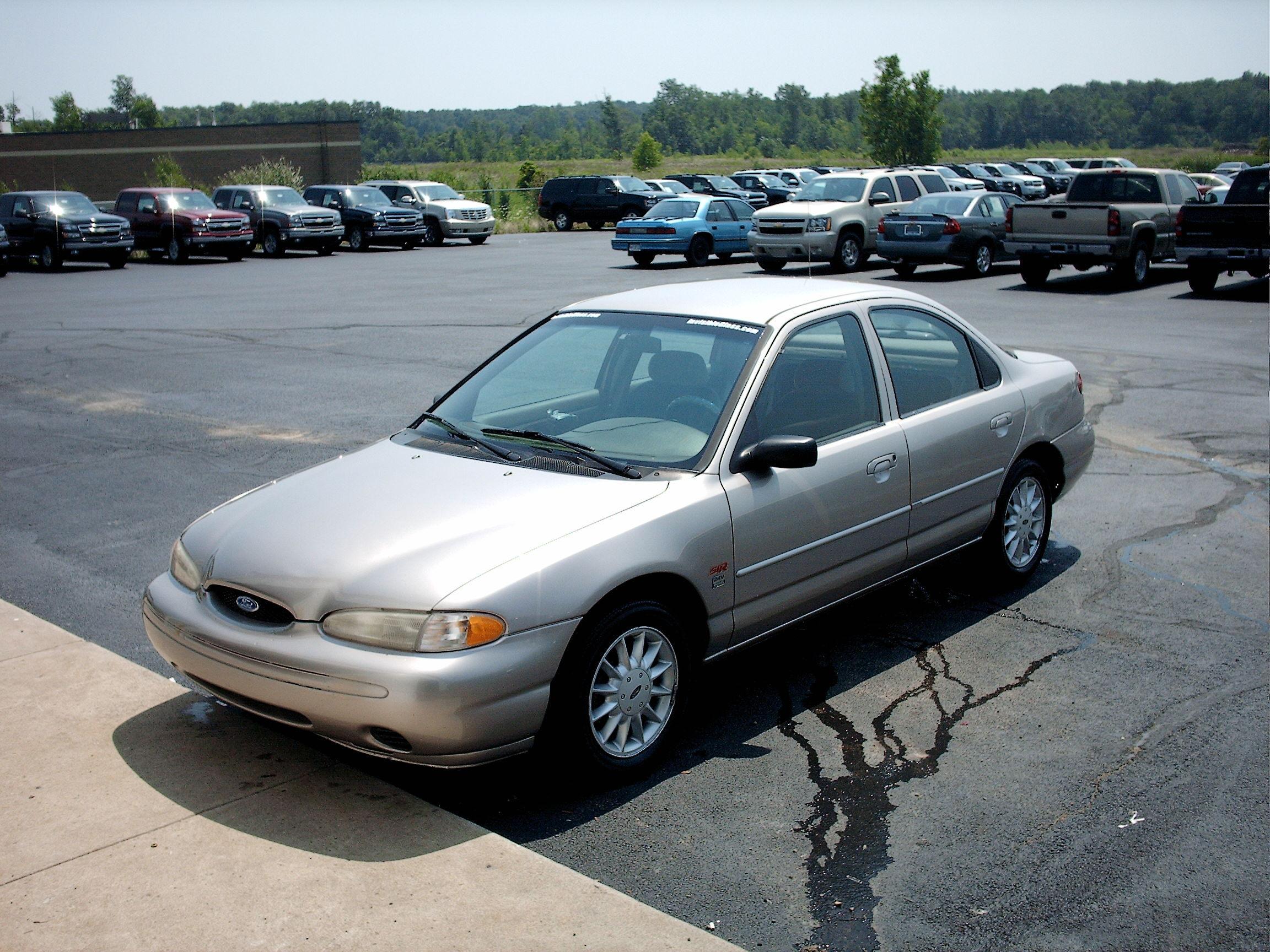 Ford Contour I 1994 - 1997 Sedan #7
