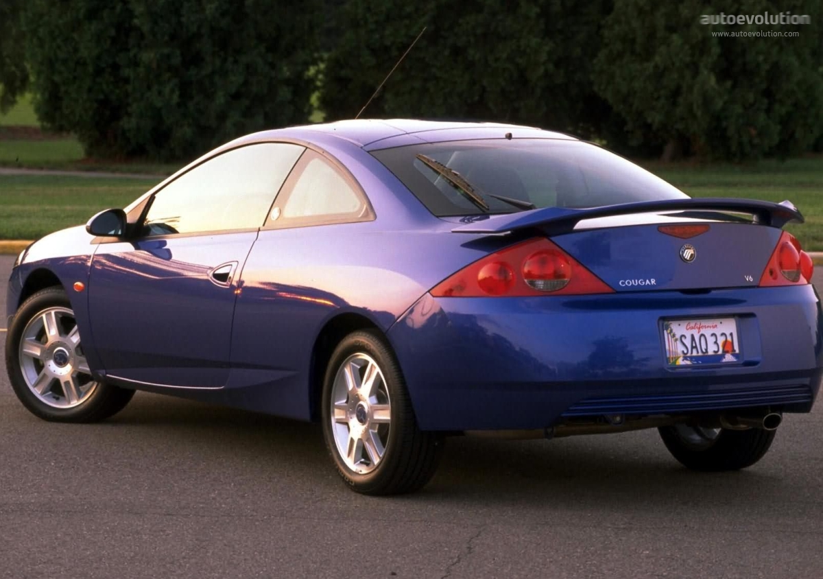 Ford Cougar 1998 - 2002 Coupe #6