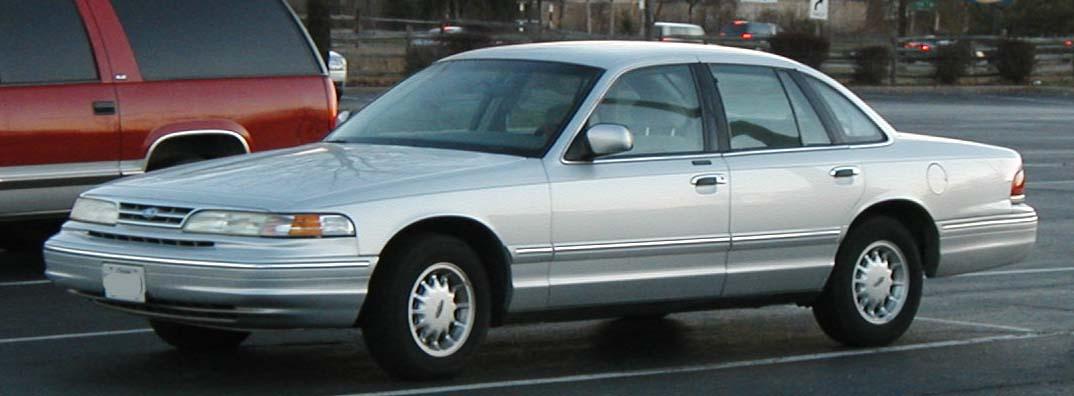 Ford Crown Victoria II 1997 - 2011 Sedan #1