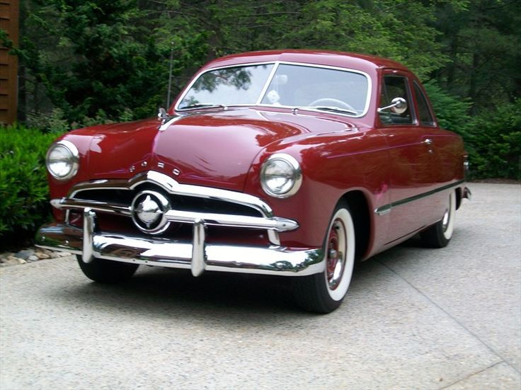 Ford Custom 1949 - 1955 Coupe #8