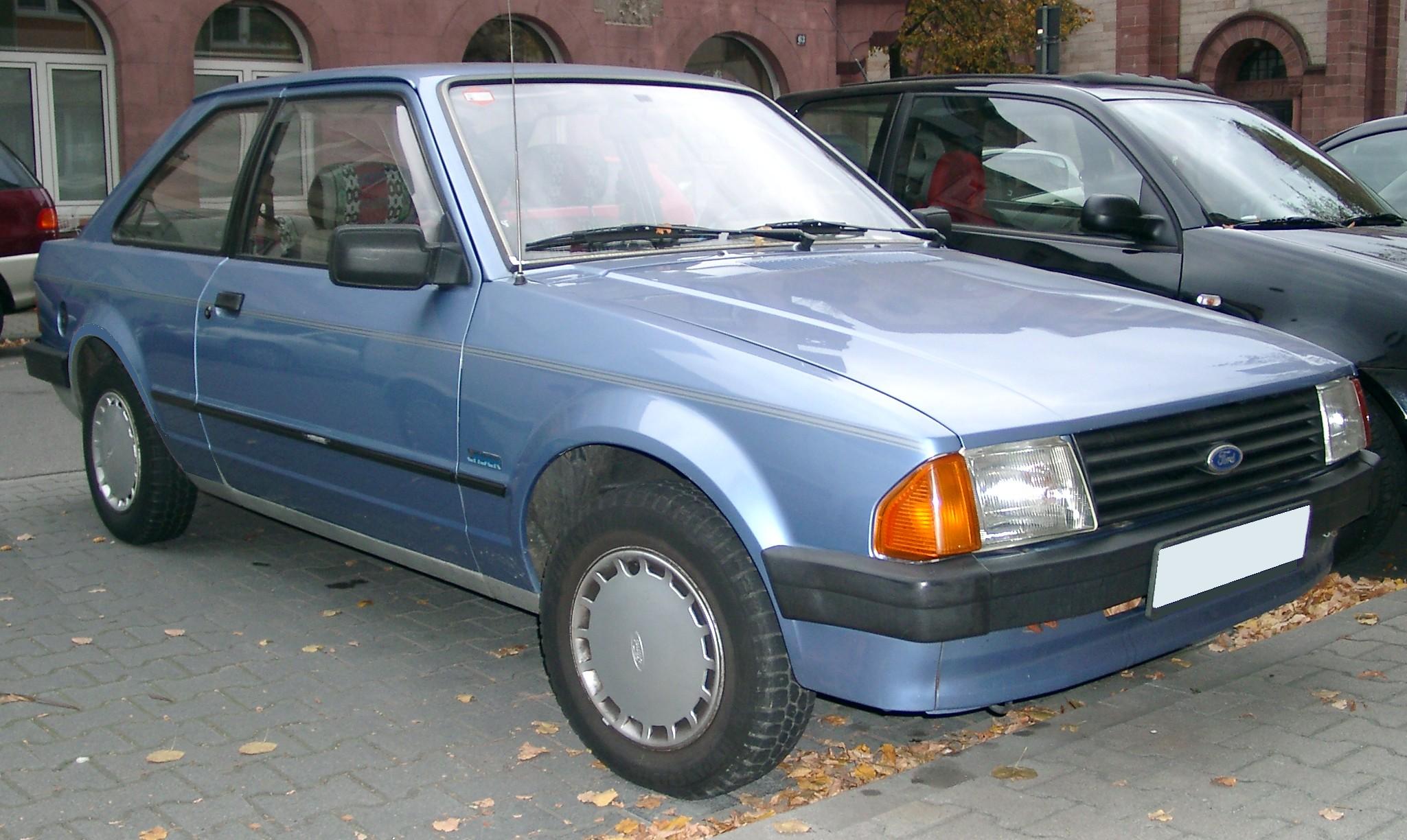 Ford Orion I 1983 - 1986 Sedan #4