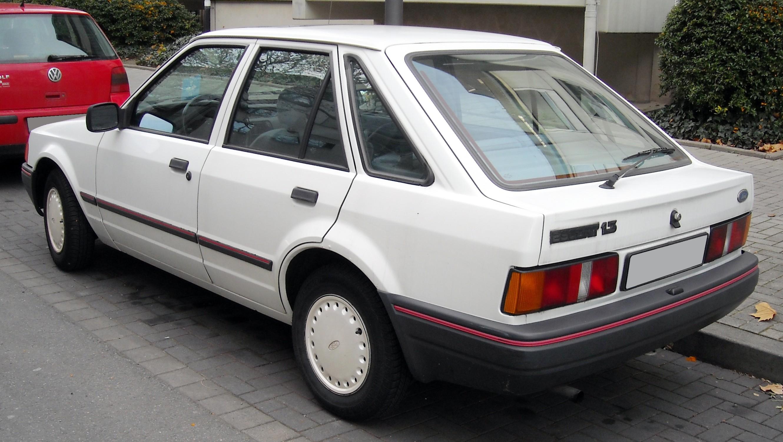 Ford Orion I 1983 - 1986 Sedan #2