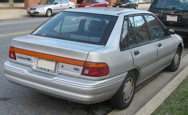 Ford Escort (North America) II 1990 - 1996 Hatchback 3 door #3