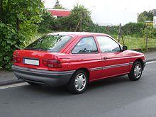 Ford Escort V Restyling 2 1995 - 2000 Cabriolet #1