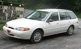 Ford Escort (North America) II 1990 - 1996 Station wagon 5 door #8