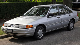 Ford Escort (North America) II 1990 - 1996 Station wagon 5 door #7