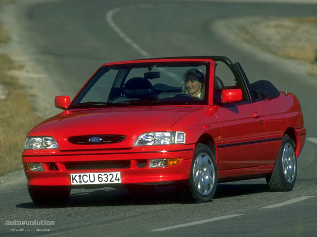 Ford Escort V Restyling 2 1995 - 2000 Cabriolet #3