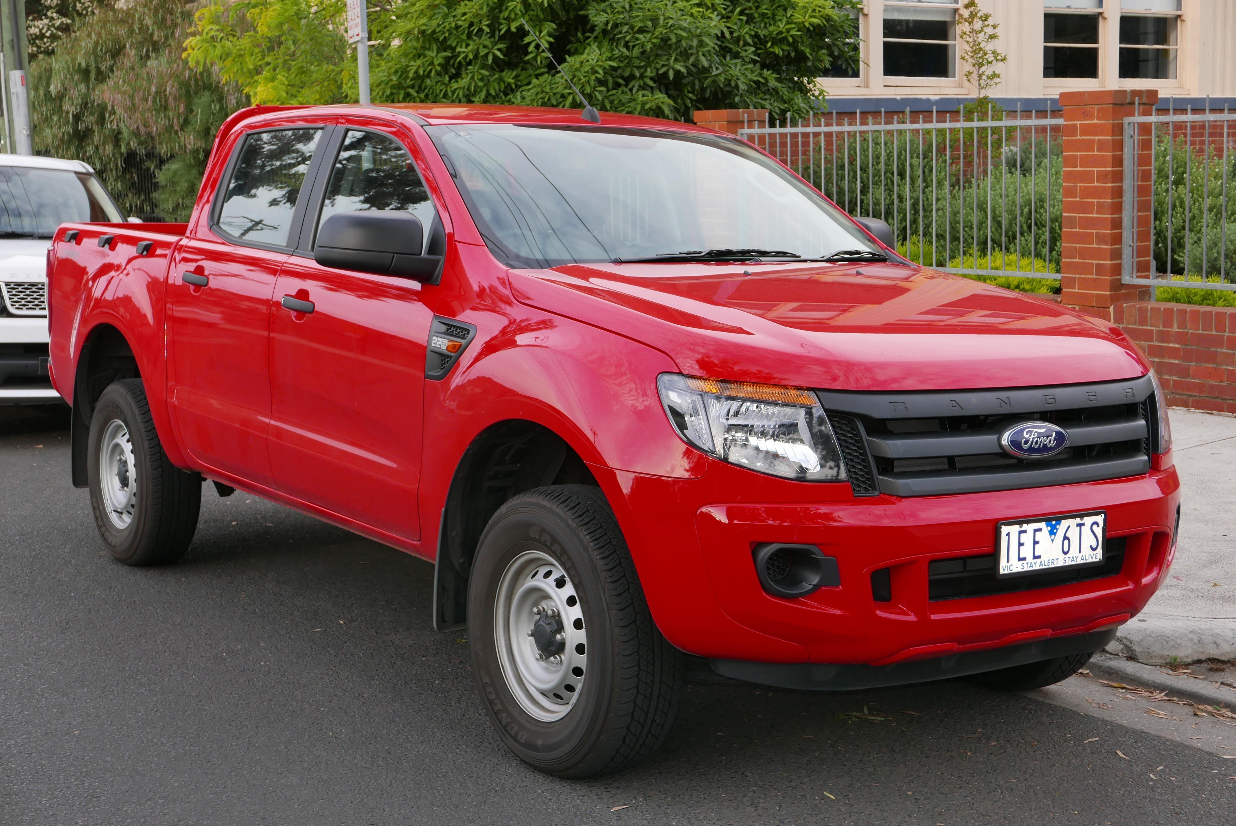 Ford Ranger IV 2015 - now Pickup #3