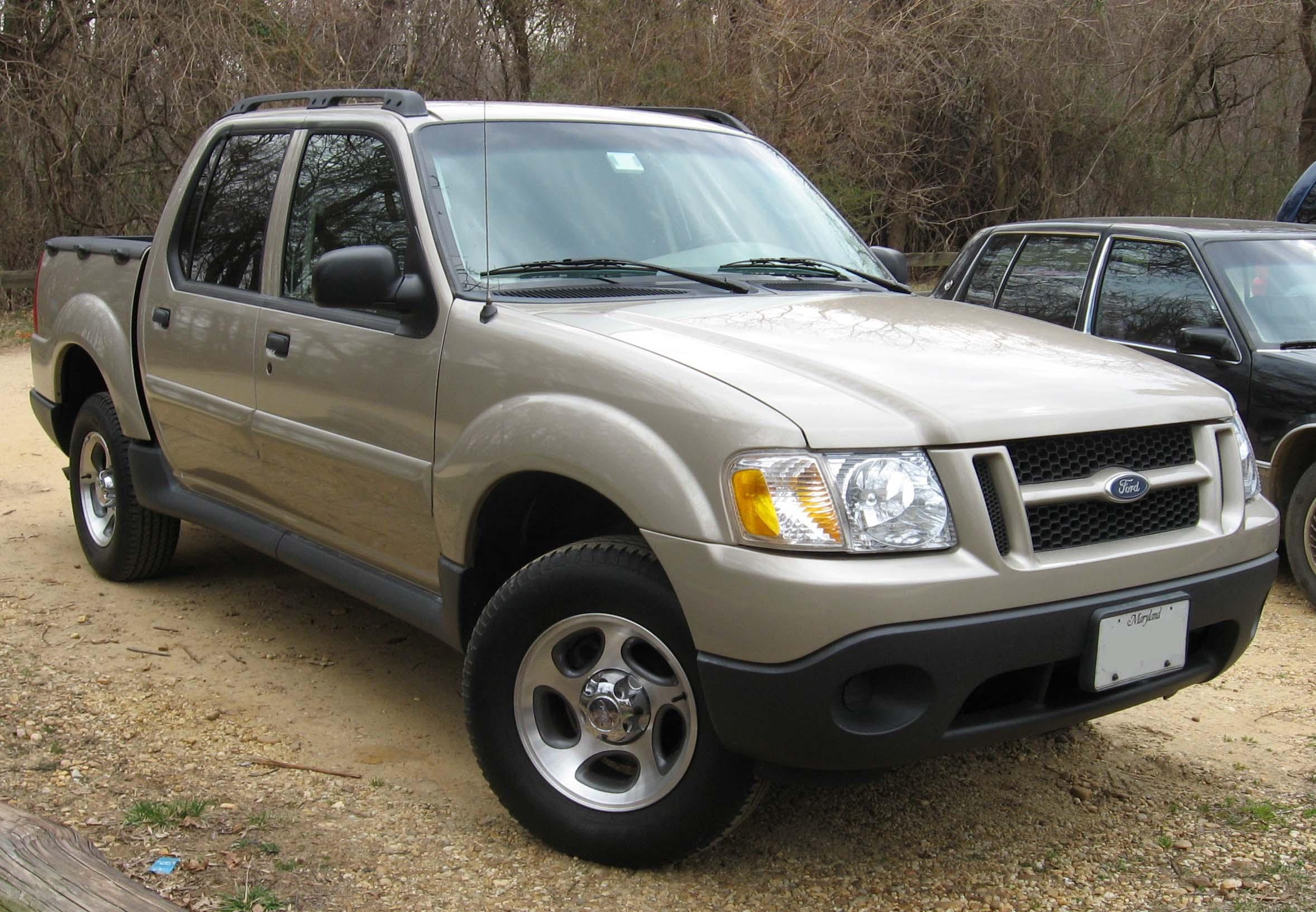 Ford Explorer Sport Trac I 2000 - 2005 Pickup #5