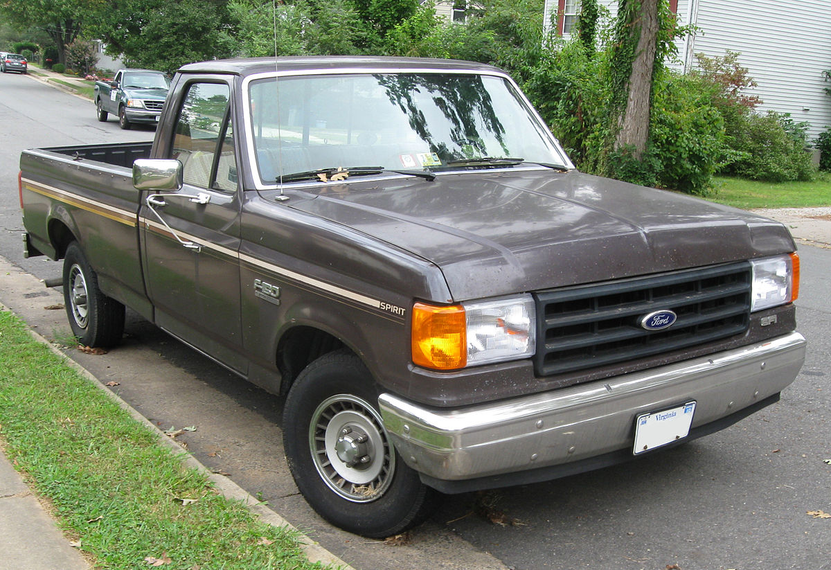 Ford F-150 VIII 1987 - 1991 Pickup #4