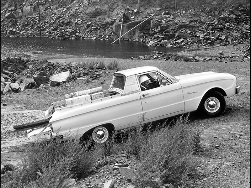 Ford Falcon I (XK, XL, XM, XP) 1960 - 1966 Sedan #4