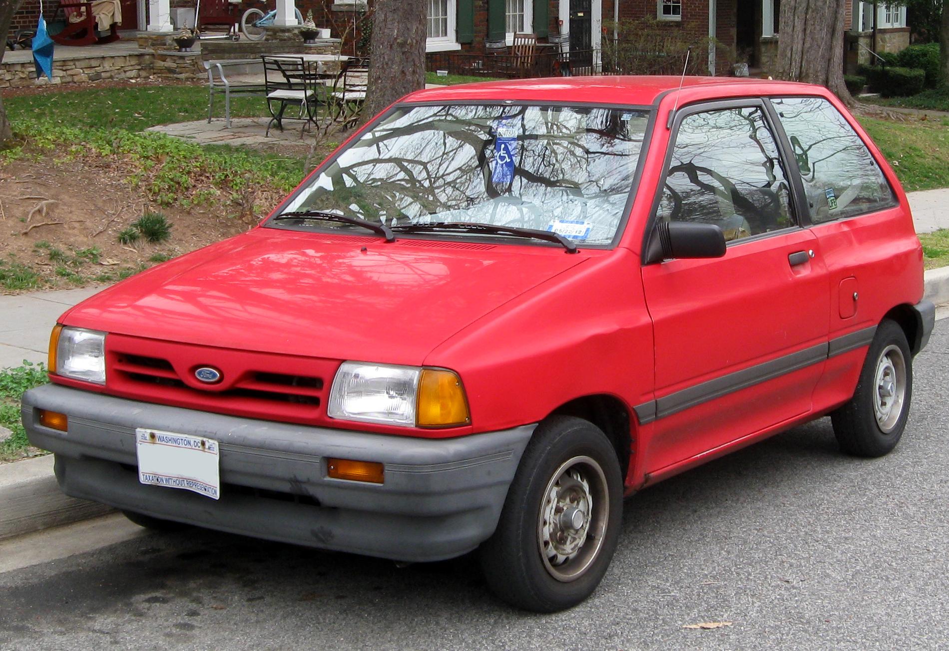 Ford Festiva I 1986 - 1993 Hatchback 5 door #1