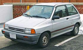 Ford Festiva I 1986 - 1993 Hatchback 5 door #8