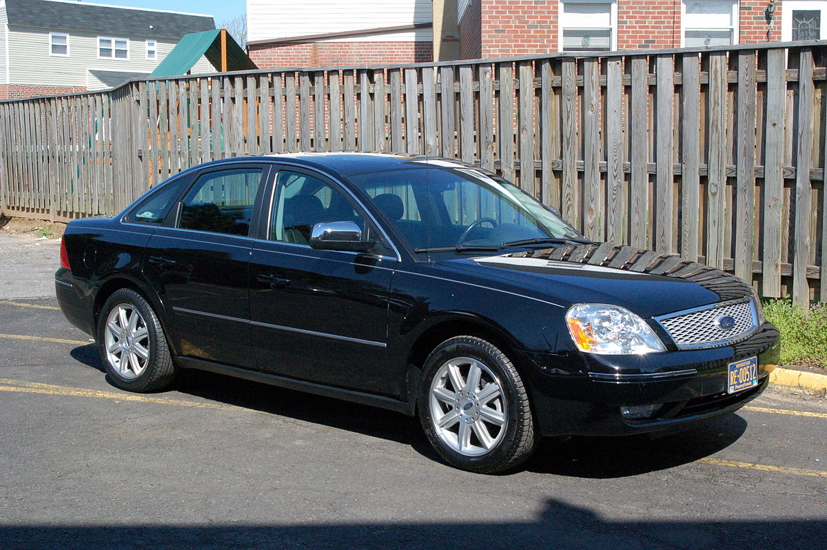 Ford Taurus IV Restyling 2004 - 2006 Station wagon 5 door #4