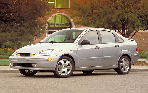 Ford Focus (North America) I 1999 - 2004 Sedan #6