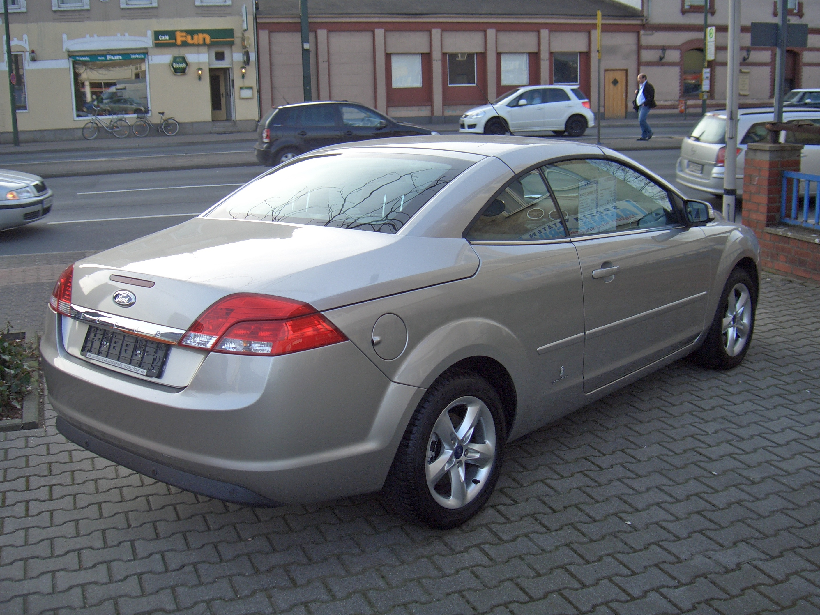 Ford Focus (North America) II 2007 - 2010 Coupe #4