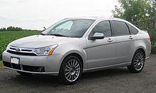 Ford Focus (North America) I Restyling 2004 - 2007 Sedan #3