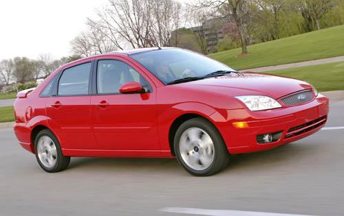 Ford Focus (North America) I Restyling 2004 - 2007 Sedan #4