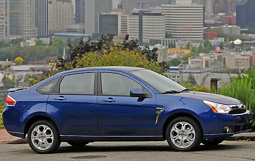 Ford Focus (North America) II 2007 - 2010 Coupe #5