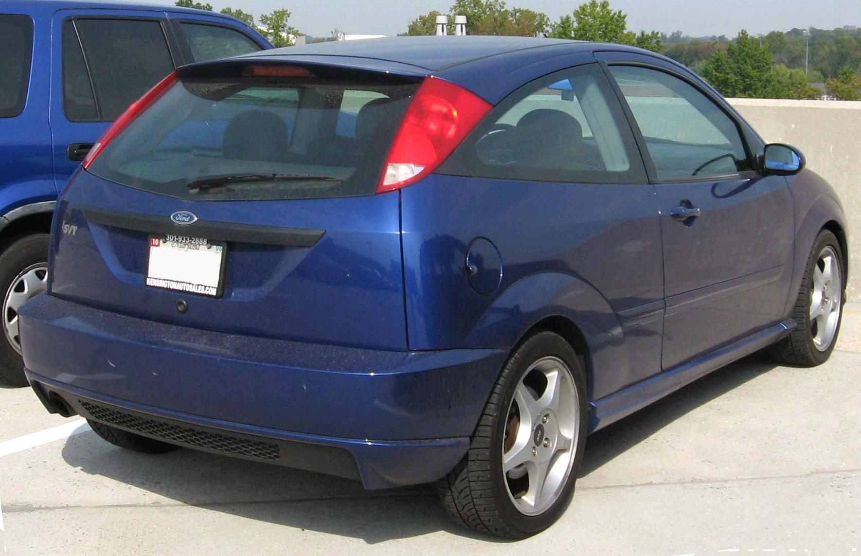 Ford Focus ST I 2002 - 2004 Hatchback 3 door #4