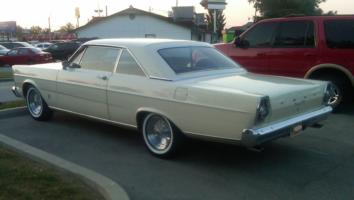 Ford Galaxie III 1965 - 1968 Coupe #3