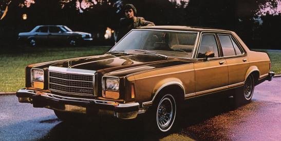 Ford Granada (North America) I 1975 - 1980 Sedan #6