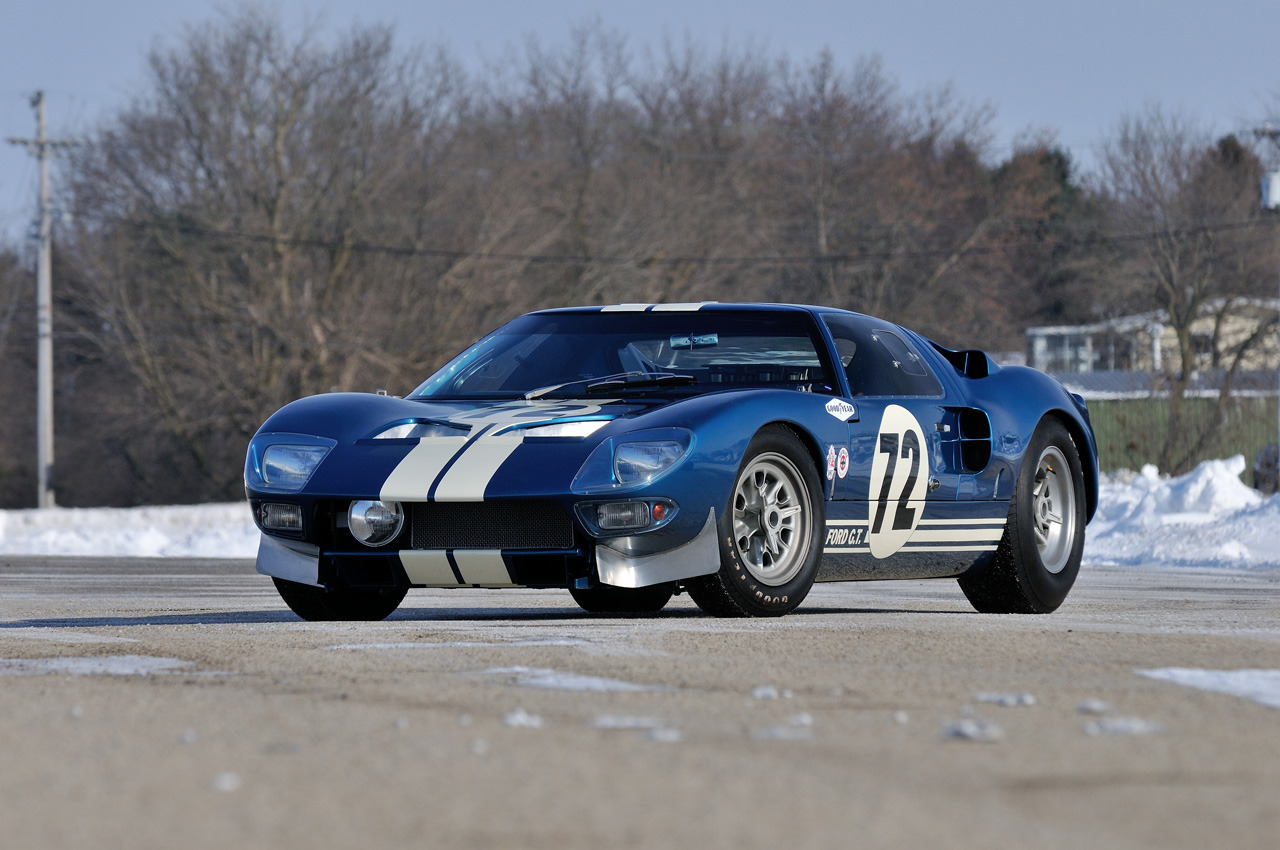 Ford GT40 1964 - 1969 Coupe #1