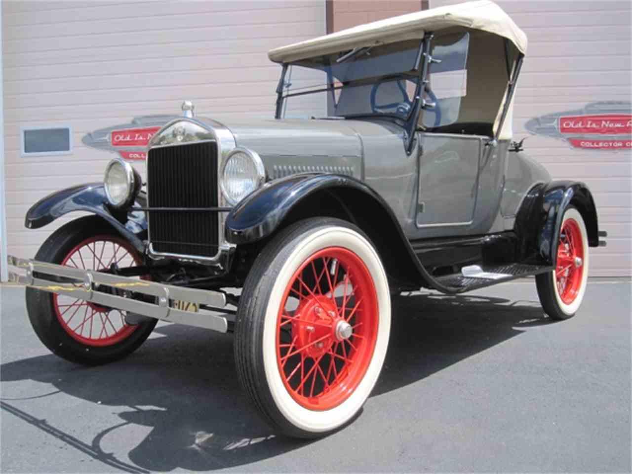 Ford Model A 1927 - 1931 Hatchback 3 door #1