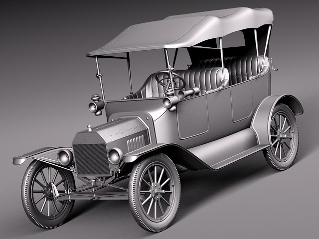 Ford Model T 1908 - 1927 Cabriolet #1