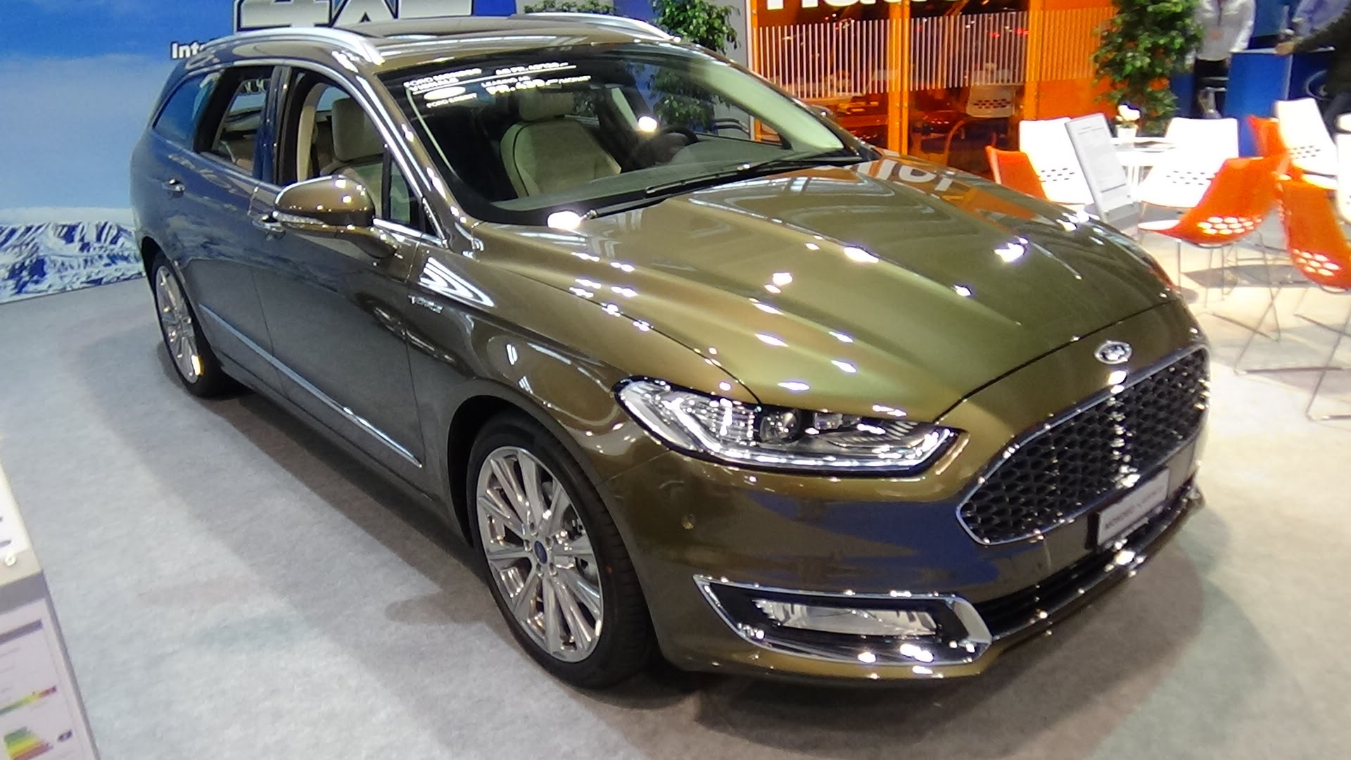 Ford Mondeo V 2014 - now Sedan #5