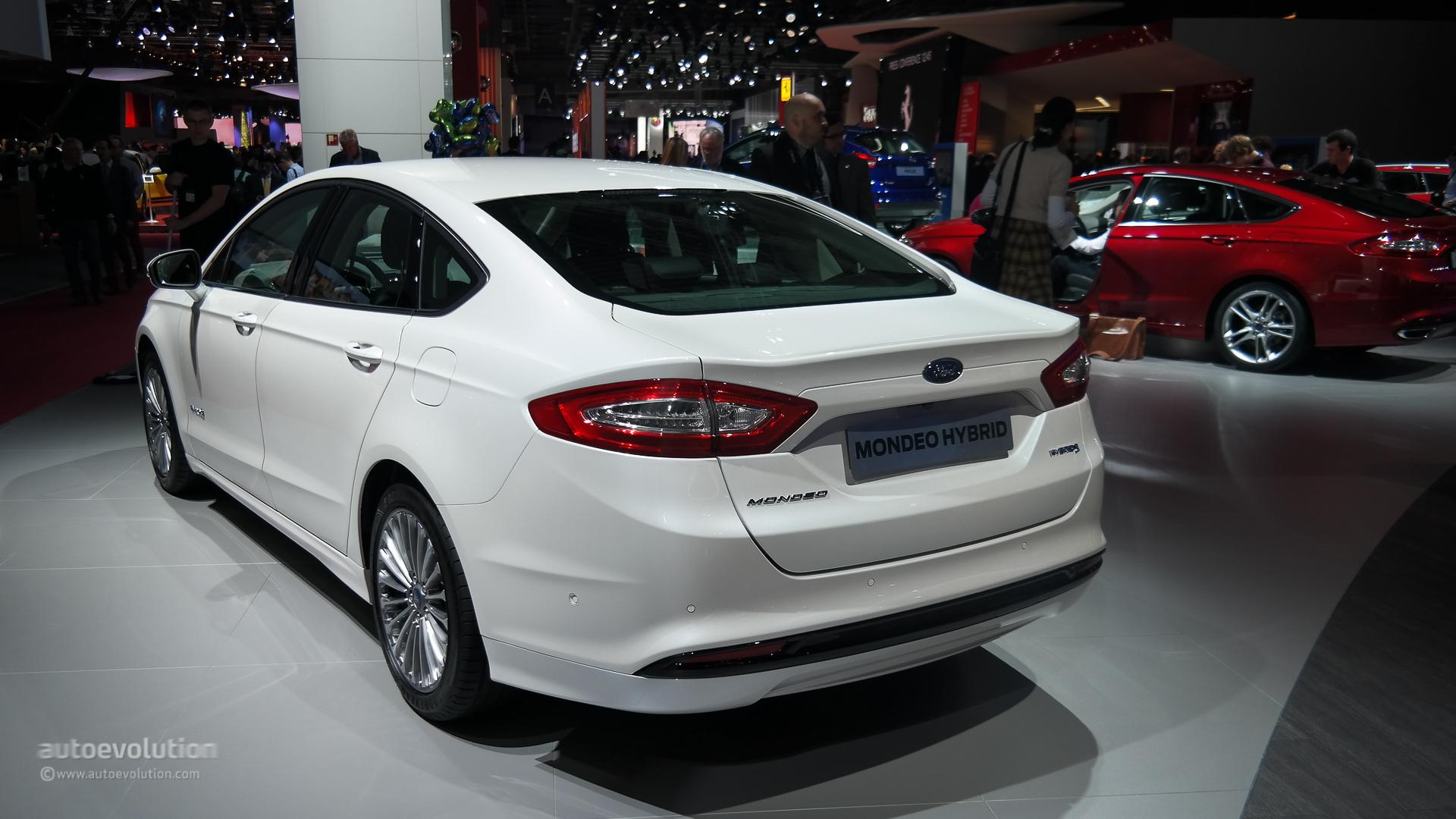 Ford Mondeo V 2014 - now Sedan #2