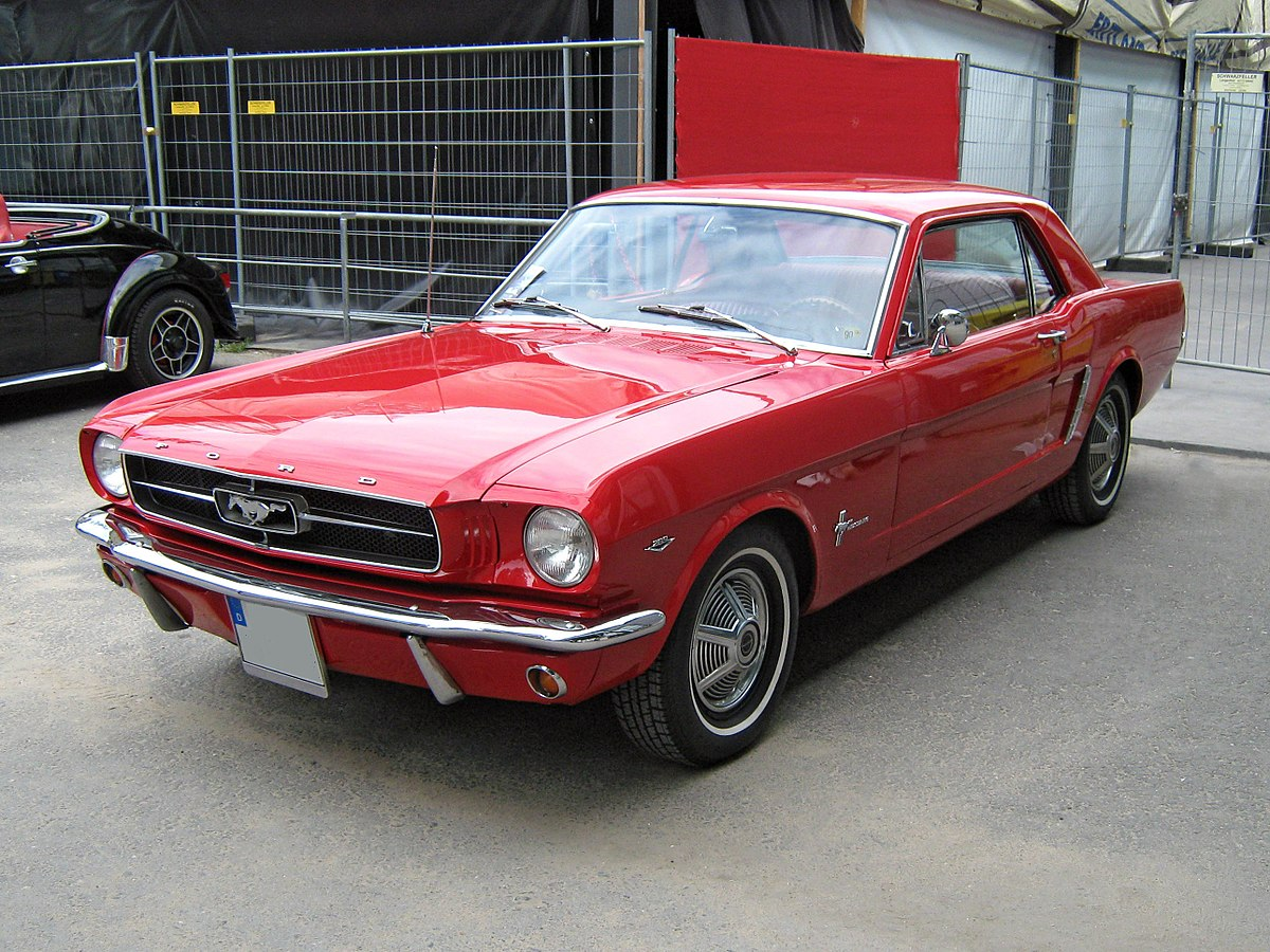 Ford Mustang I 1964 - 1973 Coupe #7
